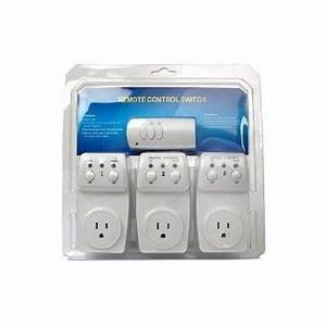 3 Pack Remote Control Outlet Wireless Power Outlets Light
