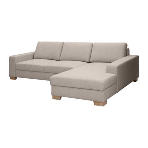 Ikea Sofa Mit Recamiere by S 214 Rvallen 2er Sofa Mit R 233 Camiere Rechts Ten 246 Hellgrau Ikea