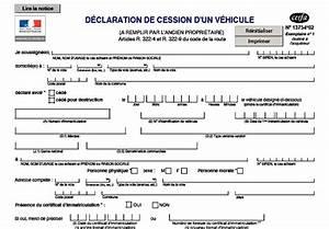 Certificat De Cession Prefecture Courrier : dimension garage declaration de cession de vehicule cerfa 13754 ~ Medecine-chirurgie-esthetiques.com Avis de Voitures