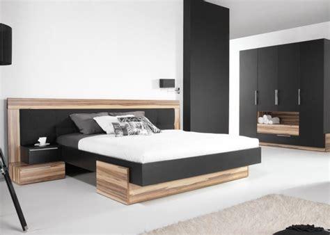 chambre a coucher style contemporain lit avec armoire dressing meubles pour chambre coucher