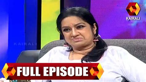 youtube actress kalpana jb junction actress kalpana part 1 25th january 2014