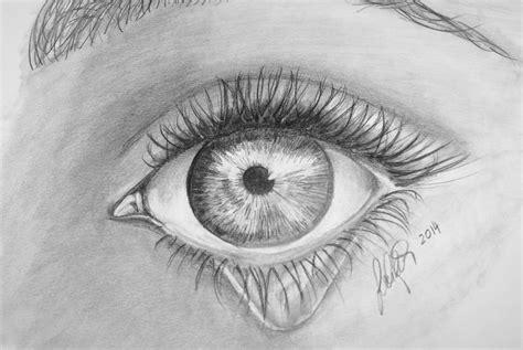 traenendes auge traenen pupille frau augen von michaela