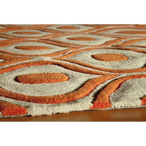 orange area rug walmart arthur barry designs gallery