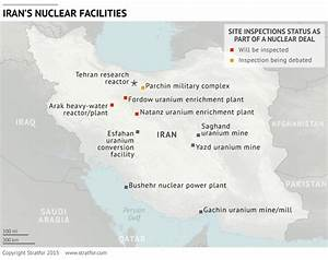 Mapping Iran's Nuclear Program And Oil Facilities | Zero Hedge