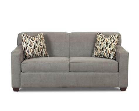 Apartment Size Sofa Dimensions by Klaussner Furniture Gillis Apartment Size Sofa K70800 K70800
