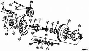 Diagram Of Front Hub And Axle 1994 Ford Explorer 4 Wheel