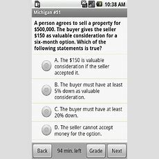 Amazoncom Michigan Real Estate Exam Prep Appstore For Android