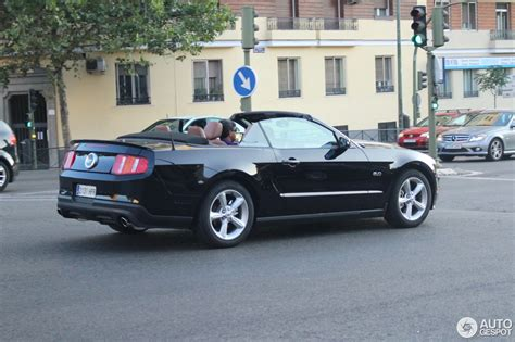 mustang gt convertible images ford mustang gt convertible 2011 6 september 2014