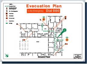 Fire Emergency Evacuation Plan Template