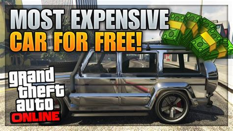 Gta 5 Most Expensive Car For Free