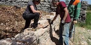 Construire Un Mur En Pierre : comment construire un mur en pierres s ches sud ~ Melissatoandfro.com Idées de Décoration