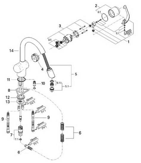 grohe 33765 ladylux caf 233 parts catalog
