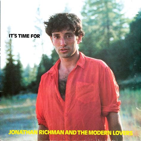 jonathan richman the modern it s time for by jonathan richman and the modern lp with rabbitrecords ref 114890199