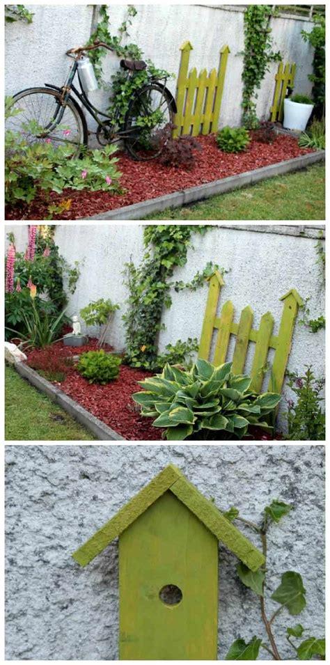 palette version deco au jardin pallet  garden