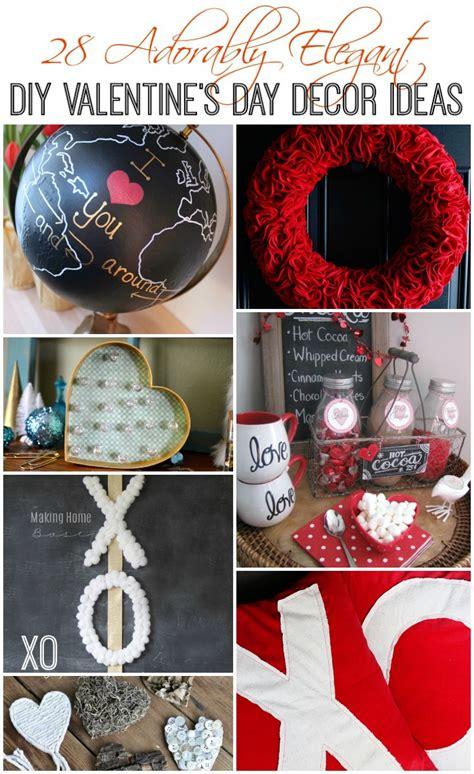 adorably elegant diy valentines day decor ideas