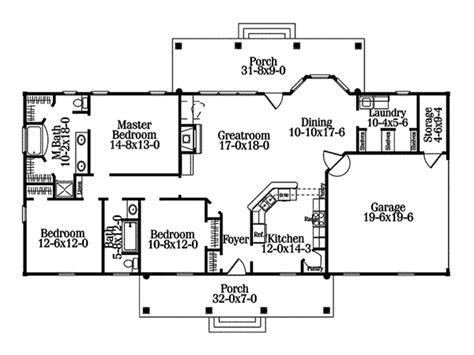 crandall colonial home plan house plans