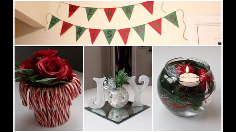diy holiday room decor ideas christmas decorations youtube