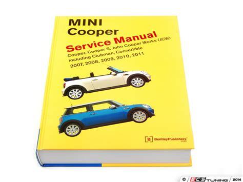 car repair manuals online pdf 2009 mini clubman regenerative braking ecs news r55 r56 r57 mini cooper bentley service manual