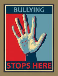 Bullying Stops Here - Anti-Bullying Poster | School ...