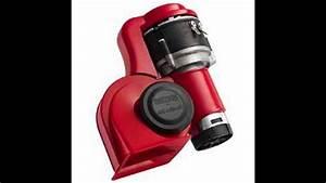 Stebel Brio La Dolce Vita Nautilus Air Horn Kit Red 12