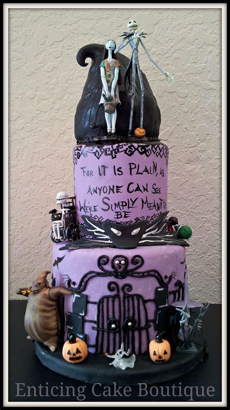 nightmare  christmas fondant wedding cake cakes
