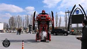 Letrons: Real-Life Transformers Made From Real Cars (Video)