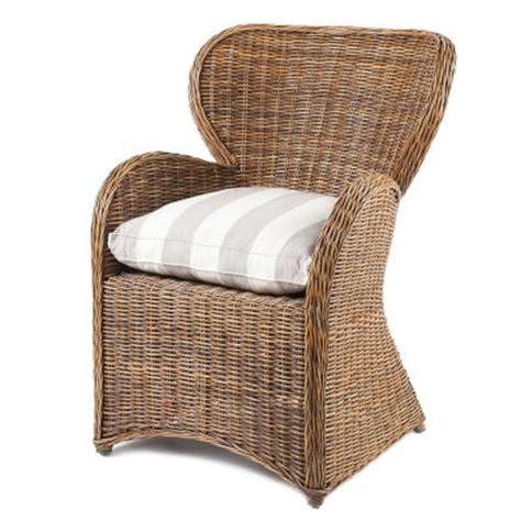 petit fauteuil en rotin siège en osier fauteuil en osier