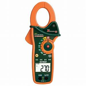 Extech Instruments Manual Clamp Dmm   Ir Thermometer 1000