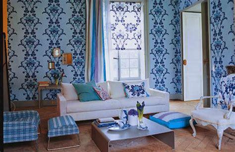 desain interior ruang tamu warna biru sobat interior rumah