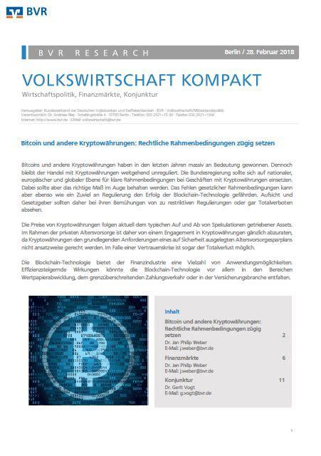 Es gibt zwei arten bitcoins online zu kaufen: Publikationen - Alle Publikationen - BVR - Bundesverband der Deutschen Volksbanken und ...
