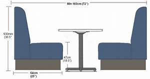 Booth & Banquette Seating Solutions - Our Curved Fluted
