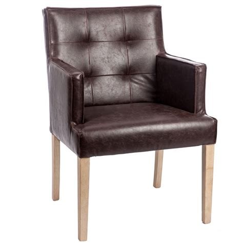chaise avec accoudoir conforama cheap chaise bois marron capitonn with chaise avec