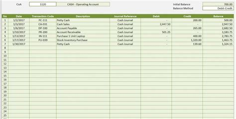 accounting journal template accounting templates for excel microsoft and open office templates