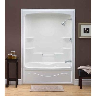 mirolin liberty    piece acrylic tub  shower