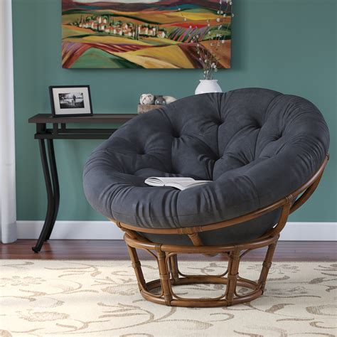 andover mills deborah rattan papasan chair reviews wayfair