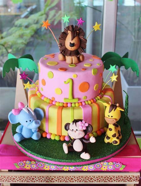 baby jungle animals birthday party ideas