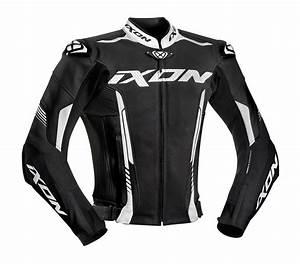 Blouson Moto Ixon : blouson ixon vortex 2 noir blanc blanc noir blouson moto cuir ~ Medecine-chirurgie-esthetiques.com Avis de Voitures
