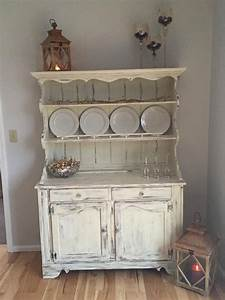 Vintage Ethan Allen Hutch Painted With Annie Sloan QuotOld