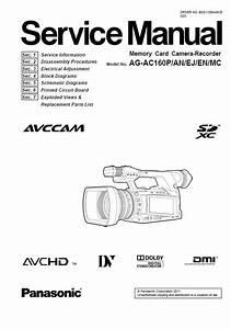 Original And Complete Panasonic Ag