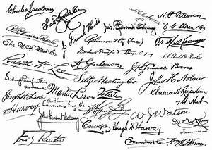 free-signatures-handwritting | Victorian Signatures ...