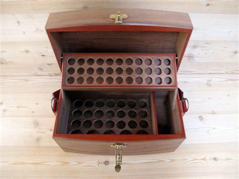 coffret valise pour le rangement des huiles essentielles