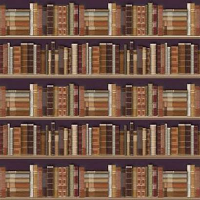Dolls Bookcase Tapet Traditional Parati Case Miniature