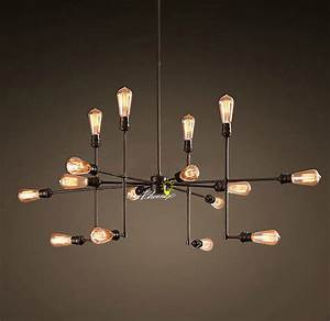 Antique loft rh edison bulbs pendant lighting