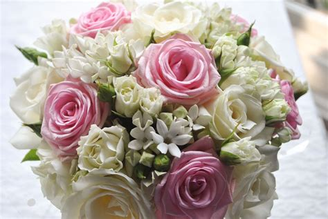 Pink And White Wedding Flowers
