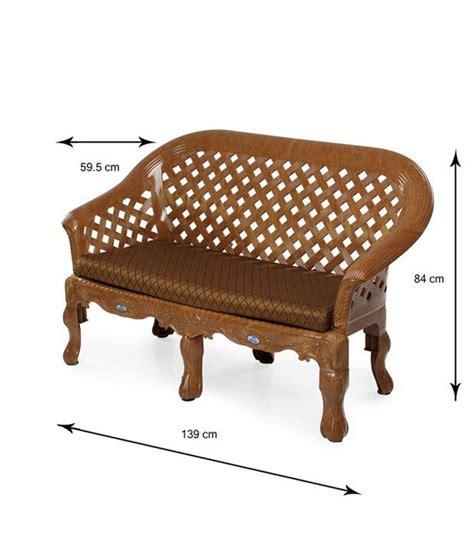Nilkamal Plastic Sofa Set Price by Nilkamal Luxura 2 1 1 Sofa Set Buy Nilkamal Luxura 2 1 1
