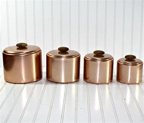 copper canisters kitchen 42 best images about canisters on pinterest copper retro kitchens and canister sets