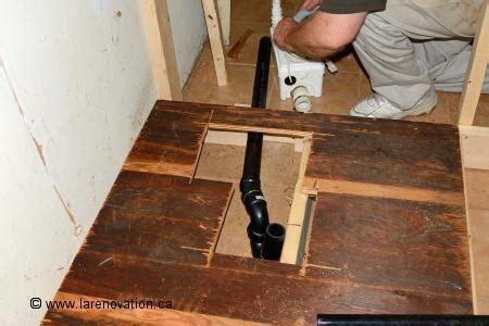 Installer Le Drain D'une Cabine De Douche
