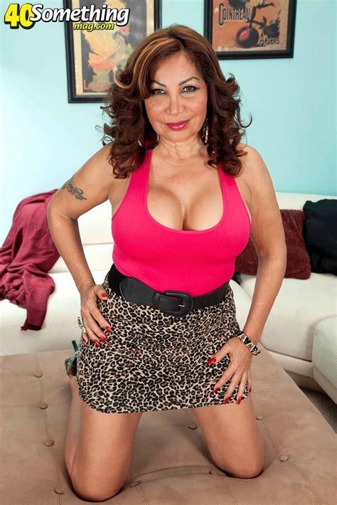 Big-titted and big-assed latina mature Sandra Martines ...