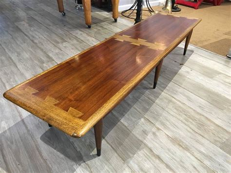 Extra Long Lane Dovetail Coffee Table At 1stdibs