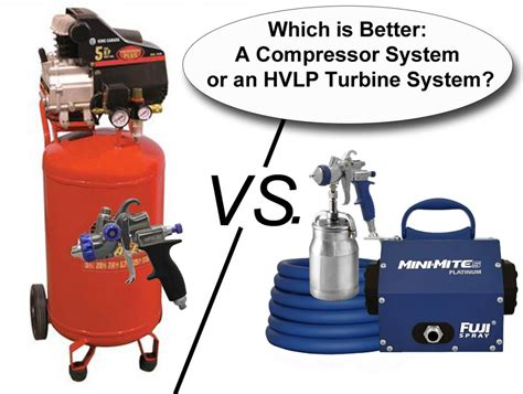 Home Decor Hvlp Stationary Sprayer : Compressor Vs. Hvlp Turbine System